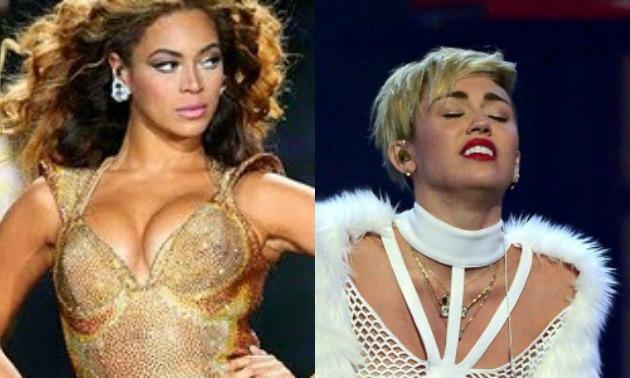 Beyonce vs. Miley Cyrus