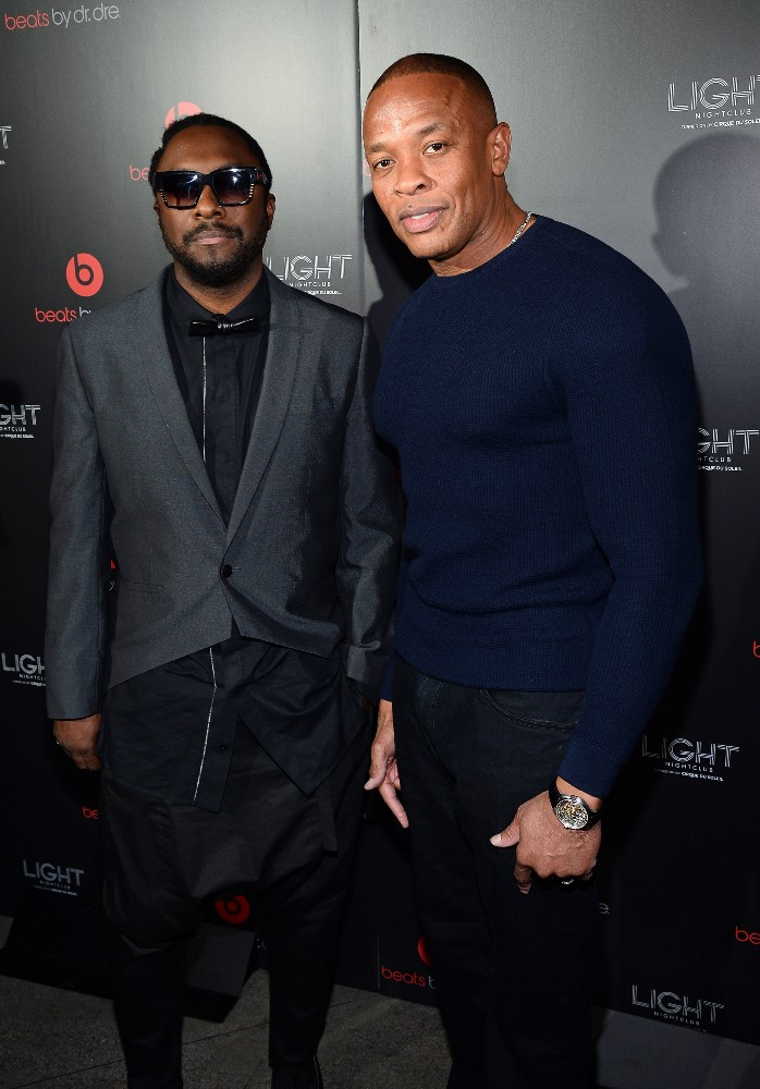 Dr Dre and will.i.am