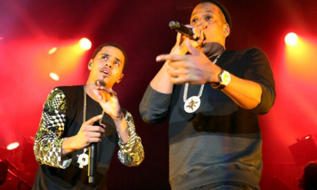 J. Cole Performs With Jay Z