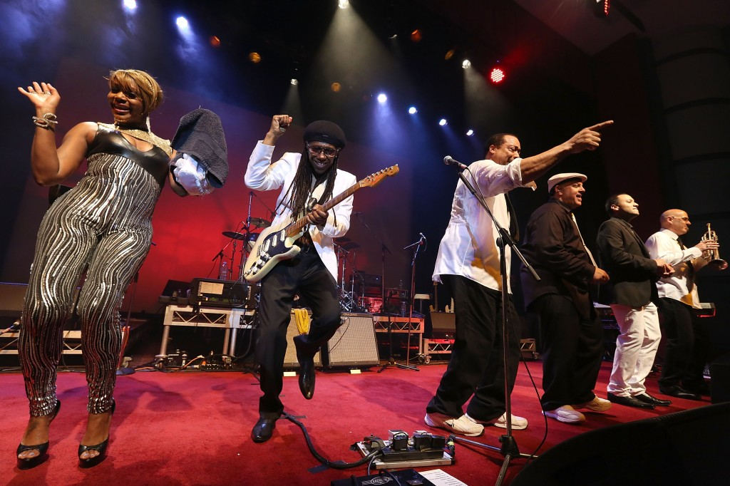 Chic & Nile Rodgers Perform In Perth