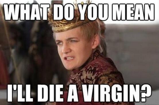 Joffrey Virgin meme