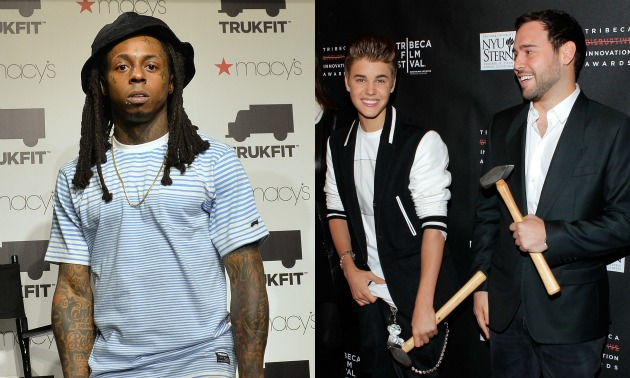lil-wayne-scooter-braun-getty