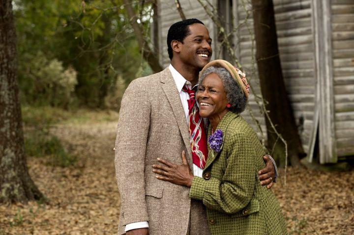 Blair Underwood and Cicely Tyson