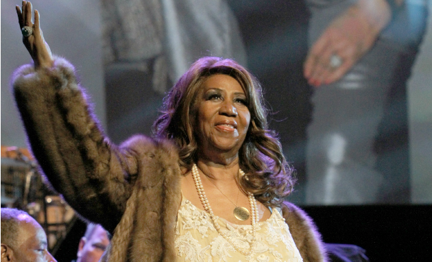 Aretha Franklin Getty