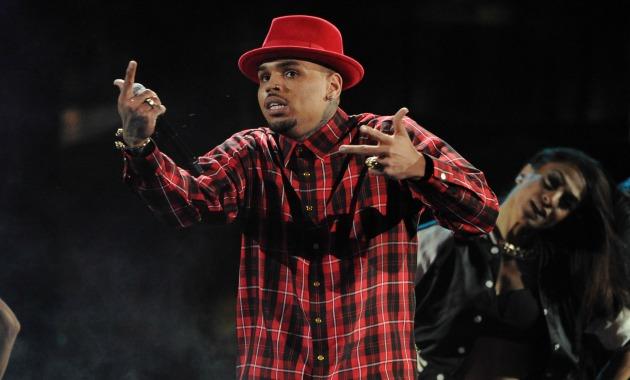 Chris Brown Getty