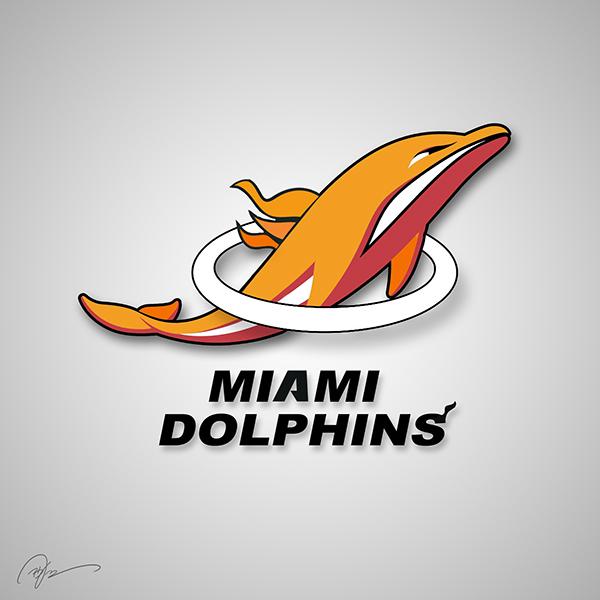 Miami Dolphins X Miami Heat