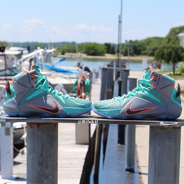 "Nike LeBron 12 ""South Beach"""
