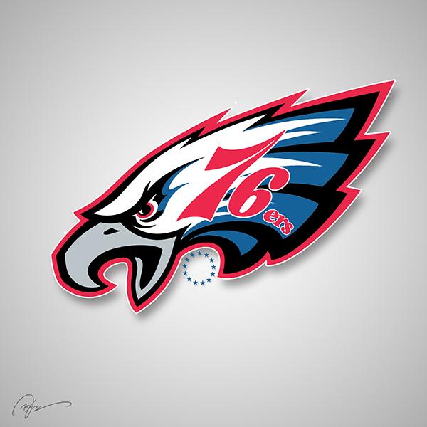 Philadelphia Eagles X Philadelphia 76ers
