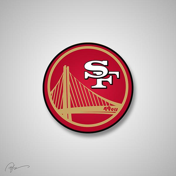 San Fancisco 49ers X Golden State Warriors