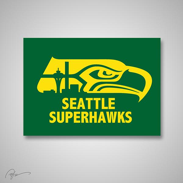Seattle Seahawks X Seattle Super Sonics