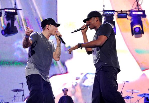 """Eminem and Jay-Z """"Home & Home"""" Concert - Detroit"""
