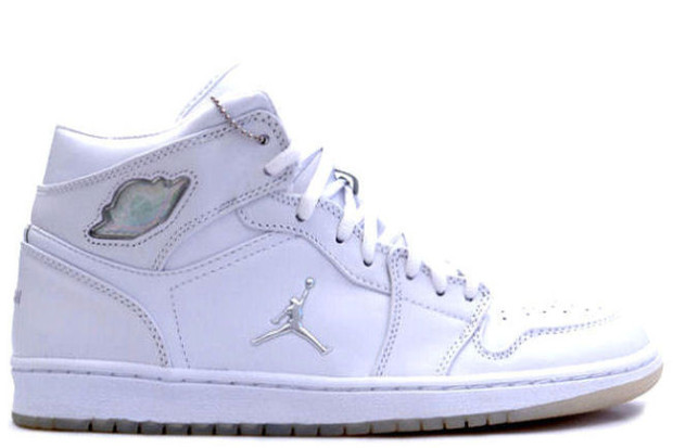 Air Jordan 1 white/silver