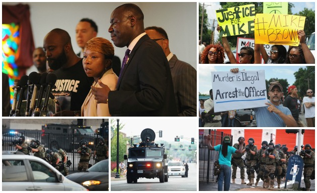 Justice For Mike Brown Outrage Ferguson MO Getty