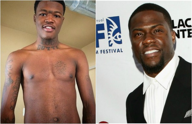 DC Young Fly and Kevin Hart IG Getty