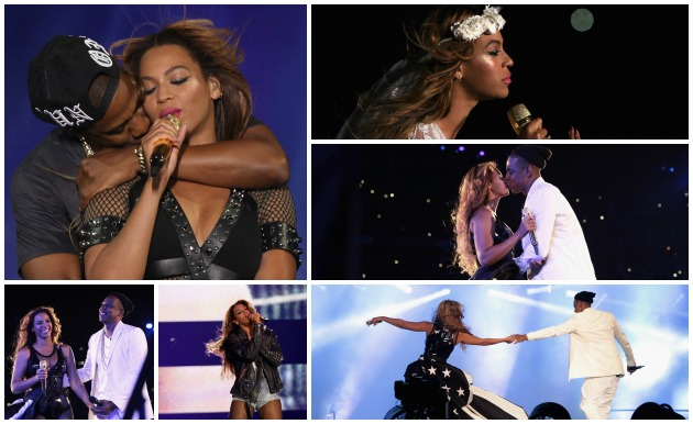 Jay Z Beyonce On The Run Tour Getty