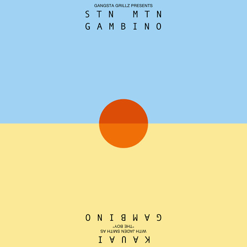 Childish Gambino - STN MTN Kauai (Artwork)