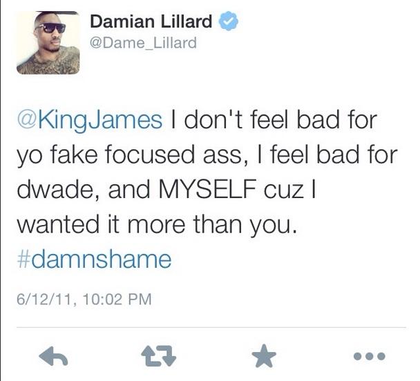 DLillard Tweet 2