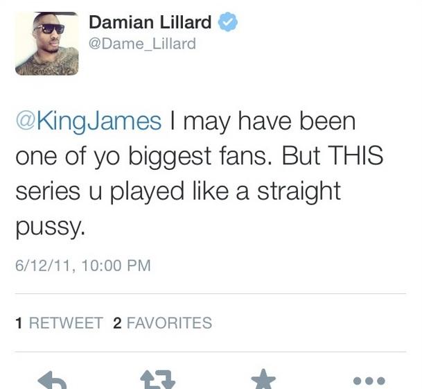 DLillard Tweet 3