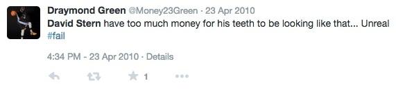 Draymond Green Tweet