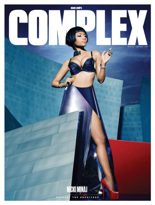 Nicki Minaj Complex Cover
