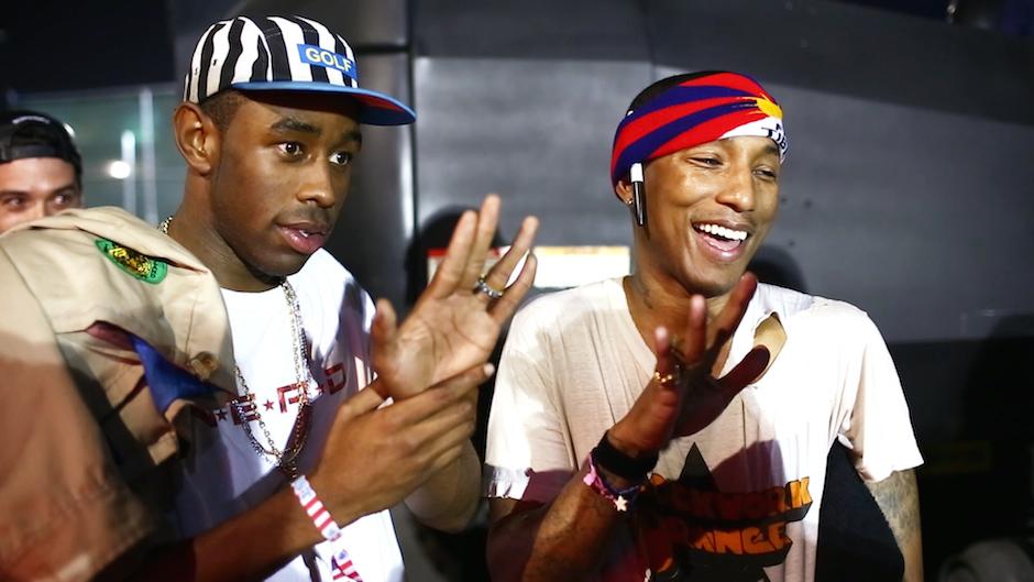 Tyler-The-Creator-Pharrell-Williams