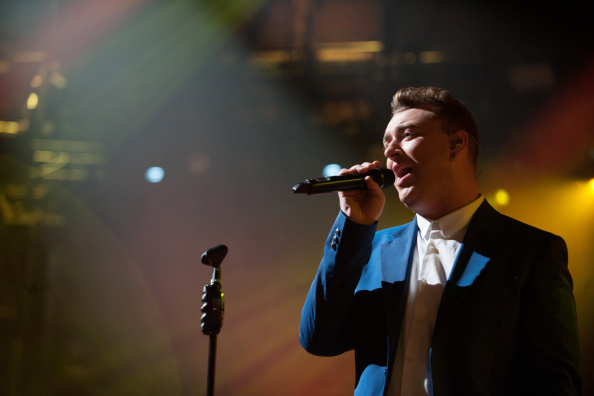 Sam Smith performs on stage for the iTunes Festival 2014 at The Roundhouse in London
