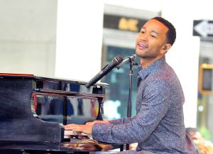 """John Legend Performs On NBC's """"Today"""""""