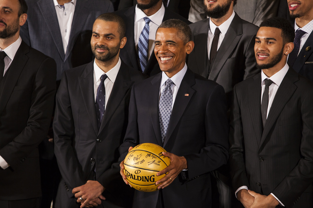 San Antonio Spurs Honored at White House