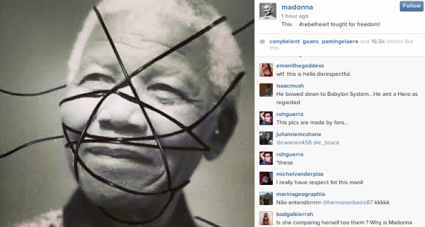 nelson mandela rebel heart