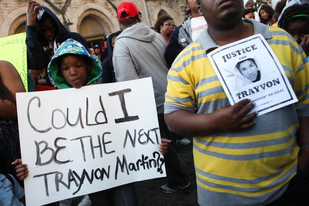 Atlanta Civil Right Activists Organize March In Memory Of Trayvon Martin