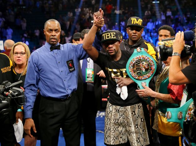 Floyd Mayweather Jr has a real fight on his hands against Manny Pacquiao.