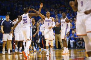 Memphis Grizzlies v Oklahoma City Thunder - Game One