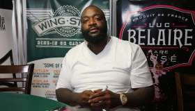 Rick Ross Meets And Greets Fans