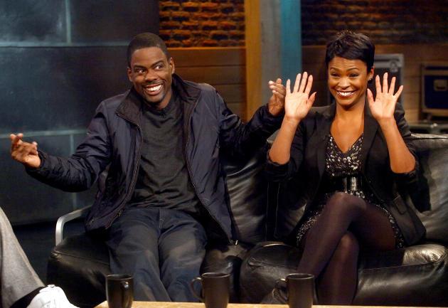 Chris Rock And Nia Long Visit fuse TV's 'Hip Hop Shop'