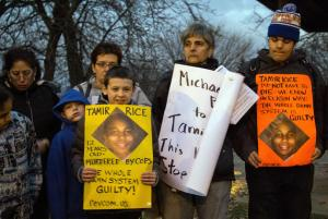 Protest For Tamir Rice
