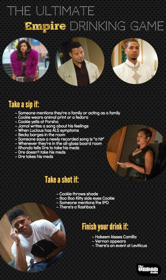 Empire drinking game