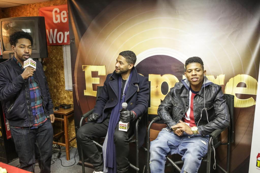 Empire Meet & Greet With Jussie Smollett & Bryshere Gray