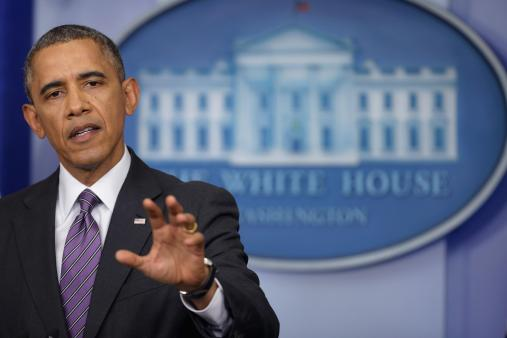 President Obama Makes Statement On Tensions In Ukraine