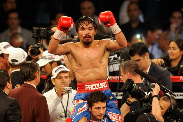 Manny Pacquiao will take on Floyd Mayweather on May 2, 2015.