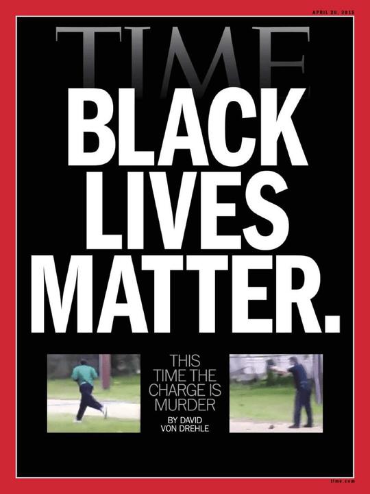 Time magazine black lives matter