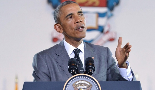President Obama in Jamaica