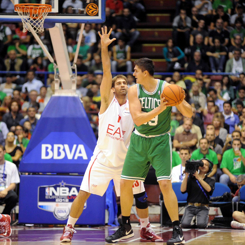 Boston Celtics v EA7 Emporio Armani Milano