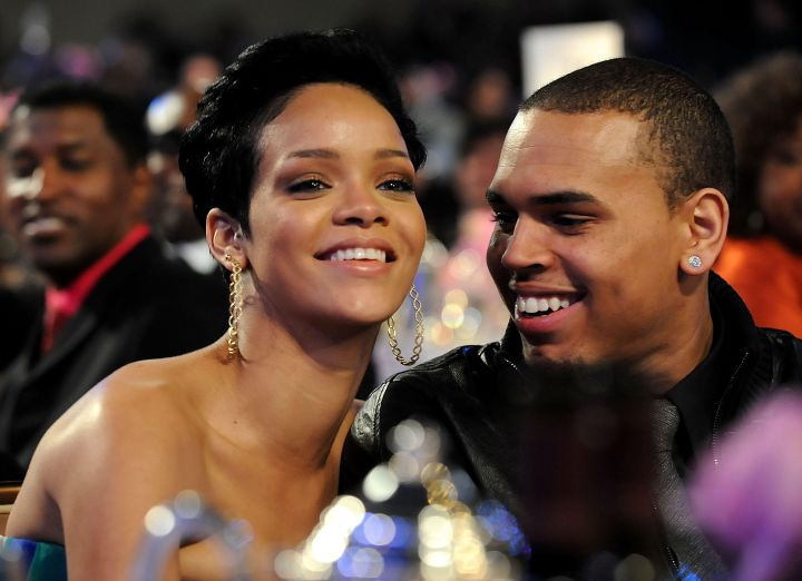Chris Brown & Rihanna In 2009