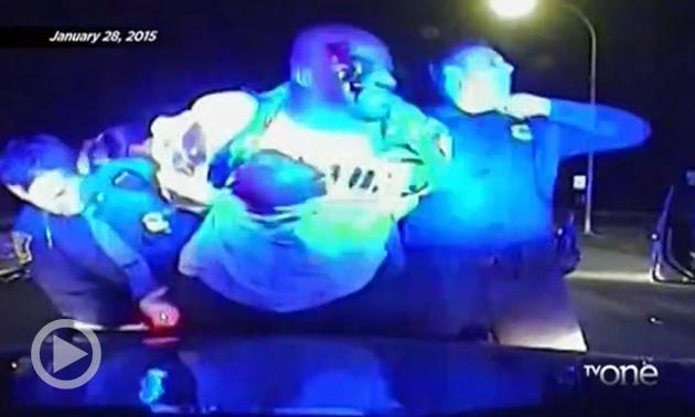 Detroit Police Beat Black Man For Running Stop Sign
