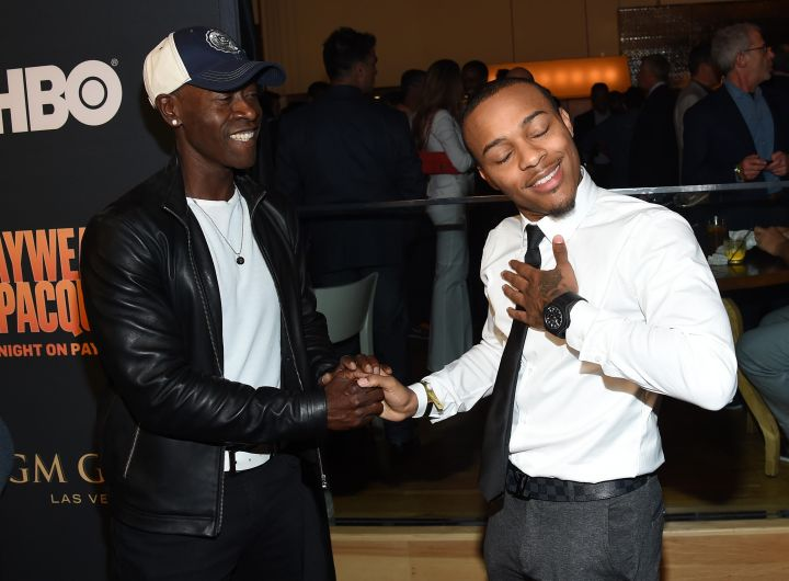 Don Cheadle and Bow Wow