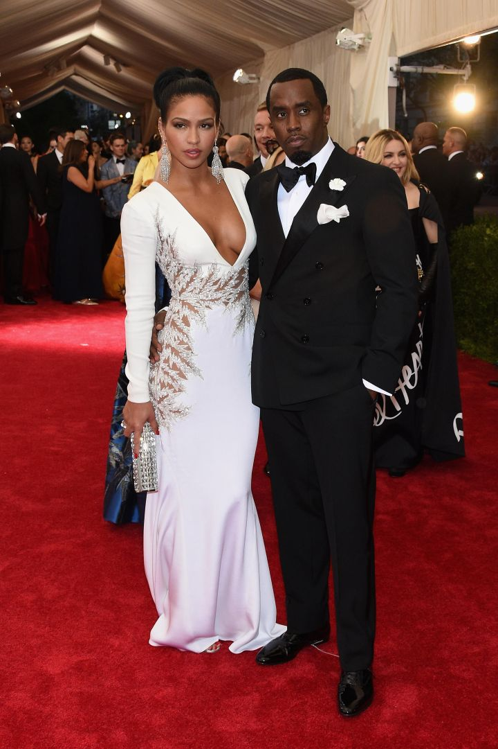 """Cassie and Sean """"Diddy"""" Combs"""