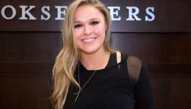 Ronda Rousey Book Signing For 'My Fight/Your Fight'
