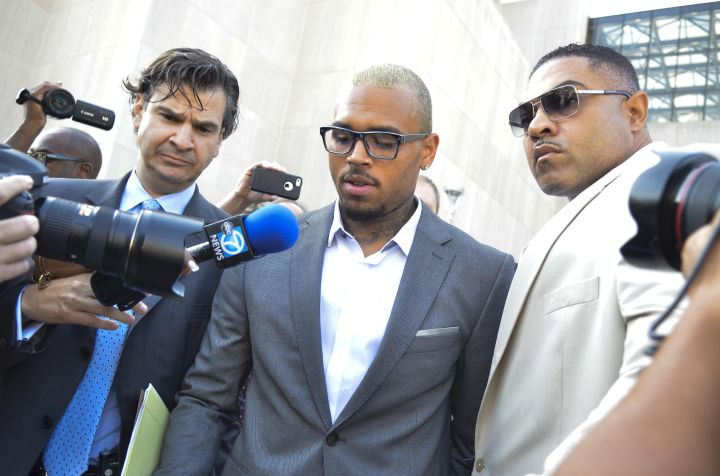 Chris Brown Arrested For Another Felony Assault, Enters Rehab