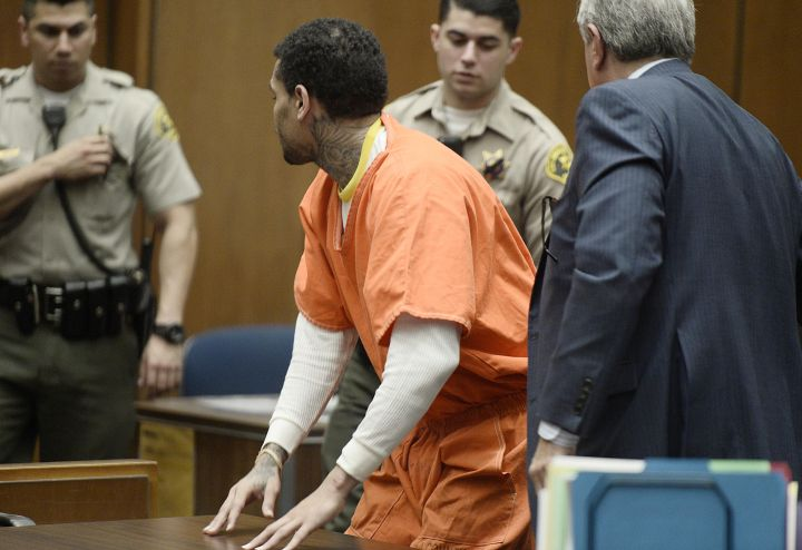 Chris Brown Serves Time, Released Early
