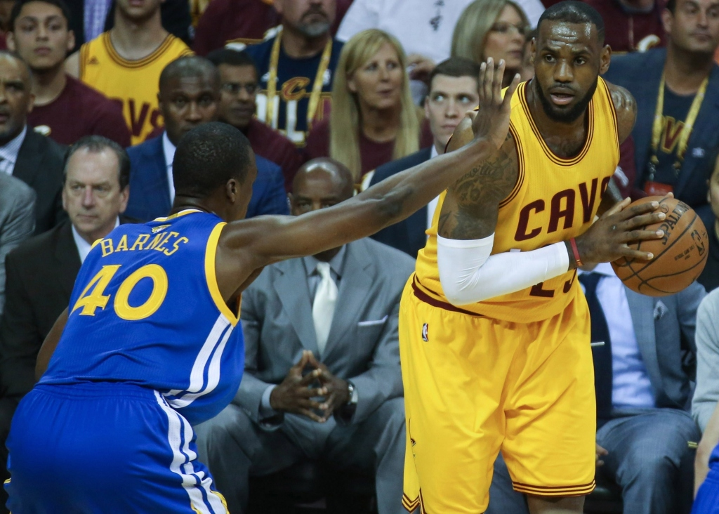 Cleveland Cavaliers beat Golden State Warriors in Game 3